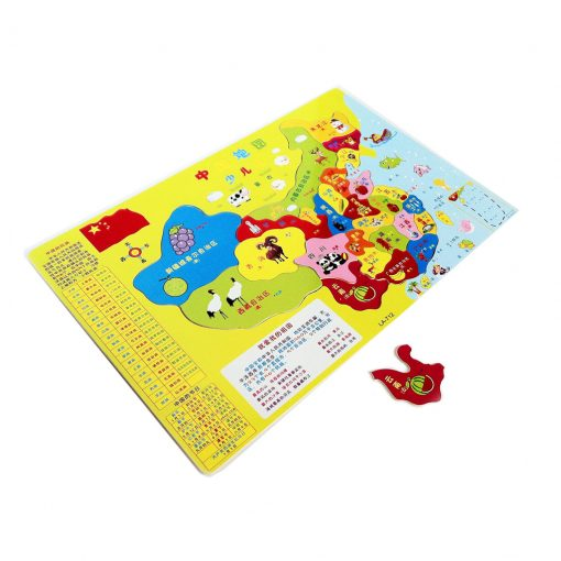 Chinese kaart puzzel